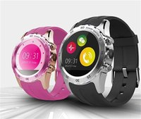 KW08 Waterproof Smart Watch Phone Mate Bluetooth NFC Camera ...
