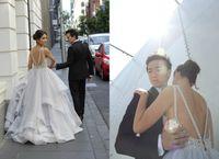 Vestidos 2016 Sexy Lace Wedding Dresses Backless Scoop Neckl...