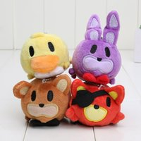 New Plush pendant 8- 9cm FNAF Five Nights At Freddy' s TS...