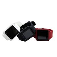 U8 Montres-bracelets Bluetooth U8 Smartwatch Montres-bracelets Avec Altimètre Pour iPhone 6 Samsung S6 Note 5 Téléphone HTC Android gratuit DHL