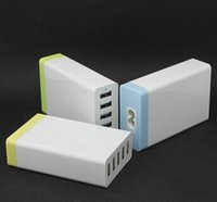 25W 5 Port Wall Desktop USB Charger Power Adapter for IPhone...