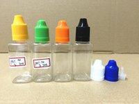 10ml 30ml PET Square bottle E Liquid Bottle Empty Oil Bottle...