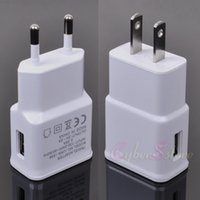 Haute Qality US Plug 2A UE Smart USB rapide IC mur Chargeur de Voyage AC Power Adapter pour Sony HTC Samsung Galaxy S6