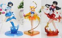 6. 7inch 17cm Figuarts Zero Sailor Moon Sailor Venus Mercury ...