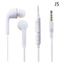 Flat coloré écouteur 3.5mm In-Ear avec contrôle du volume et MIC Headset Earbuds Pour Samsung Galaxy S4 S5 I9600 Note 2 Note 3 N9000