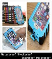 Comercio al por mayor de alta resistencia durable teléfono móvil impermeable bolsa del caso de la cubierta para Samsung Galaxy Note para Iphone 4 6 más