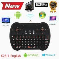Rii i28- 1 K28- 1 V6A R6 Mini Wireless Keyboard 2. 4G with Touc...