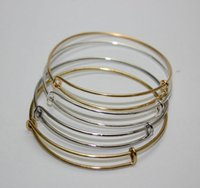 Hot Sale!!!50 pce lot Fashion Jewelry Wire wrapped Bangle Go...
