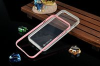 Verus Crystal Plastic Frame Bumper With TPU Back Case for iP...