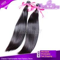 8~34inch 100% Real Brazilian Hair Straight Brazilian Hair bu...
