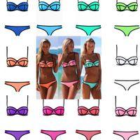 Free shipping Sexy Women Bandage Bikini Swimwear Stretchy Sh...