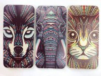 HEAD CASE AZTEC ANIMAL FACES Soft TPU GEL BACK CASE FOR Ipho...