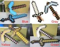 Mix Accepted high copy 120pcs Minecraft sword Figure toy Min...