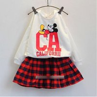 2015 Mickey Mouse Children Outfits Sets Leisure Fashion Nice...
