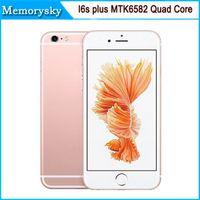 Разблокирована 1: 1 i6s Плюс I6s 5.5inch MTK6582 Quad Core 1280 * 720 HD 8MP камера Показать двойного 1G 64GB 4G LTE Показать 3G GPS смарт телефон Android 0002914