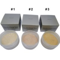 3 clolors loose powder Famous laura mercier loose setting po...