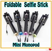 NEW Extendable Wired Selfie Stick Foldable All- in- One mini M...