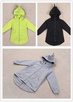 kids cardigans girls hoodies children cartoon hooded coat di...