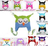 2014 Newest Spring Parrot Owl Cartoon Handmade Baby Warm Hat...