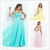 Glamorous Prom Dresses with Crystal Beading 2015 New Exquist...