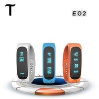 Смарт часы Е02 водонепроницаемый Bluetooth Фитнес Tracker Здоровье браслет Спорт браслет механизм для Android IOS iphone6s SmartWatch