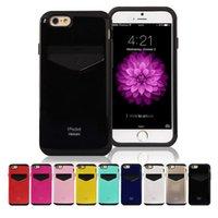 Mercury iPocket Premium Case Card Slot for iphone 6 6S Plus ...