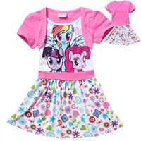 2015 New Summer Dress My little pony Princess Girls short Sl...