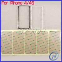 For iPhone 4 4G 4S LCD Frame Bracket Housing Middle Bezel fo...