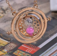 2015 Ladies Couples Necklaces Harry Potter 360 Time Turner S...