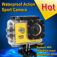 Original W8 Action Wifi Camera 1080P Full HD Diving Waterpro...