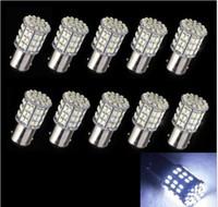 100PCS 1157 64 SMD LED Bulb 12V White 15D Car Tail Stop Brak...