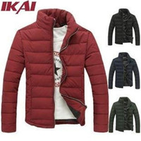 Mens Slim Down Jacket - Coat Nj