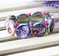 2015 new high quality frozen stretch bracelet handmade brace...