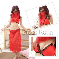 Grace Karin Cheap Sale Sexy Lady Arab Costume Underwear Ling...