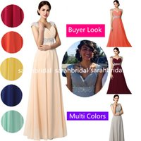 2014 Best Selling Blush Peach Long Prom Dresses For 2015 Occ...
