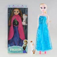 11. 5inch Frozen Musical Doll Anna and Princess Elsa with Ola...