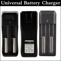Двойные шлицы Универсальный 18650 18350 зарядное устройство для литий-ионная Универсальное зарядное устройство для батареи 18650 18350 прейскуранту завода-изготовителя через DHL