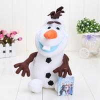 25cm Cartoon Movie Frozen Olaf Plush Toys For Sale Cotton St...
