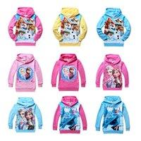 Frozen Kids 2- 10 Years Elsa Anna Princess Hoodies Long Sleev...