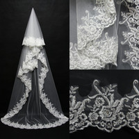 2015 Wedding Bridal Veils vesitodos de noiva Wedding Accesso...