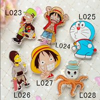 10 different style hotsale popular acrylic CARTOON pin brooc...