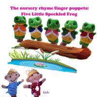 100Sets lot Children' s Plush Toys Five Little Speckled ...