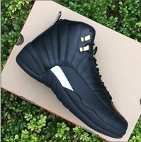 Men' s 12 The Master Black Basketball Shoes real version...