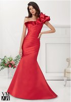 high quality 2015 gracefully Mermaid One- Shoulder Satin Ruch...