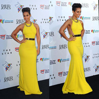 A yellow prom dress trends