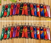 DHL 15 Style 70cmx70cm Mono- Layer Piping Capes - Superman Sp...