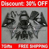 7gifts ALL Black Full Fairing Kit For YAMAHA YZF- R6 03- 05 YZ...
