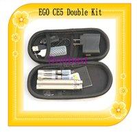 CE5 Ego t kit de arranque doble cigarrillo electrónico CE5 atomizador 650mah 900mah 1100mah 1300mah batería ego t batería e cigarrillo Ego Kit