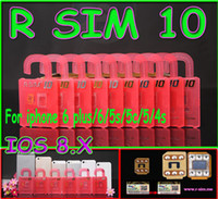 Newest Original R- SIM 10 rsim 10 R SIM 10 Unlock Card for ip...