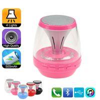 Night Light Bluetooth Speaker Portable Wireless LED Bluetoot...